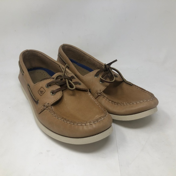 Mens Authentic Leather Boat 0197632